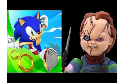 Sonic Dash vs Chucky Slash & Dash - YouTube