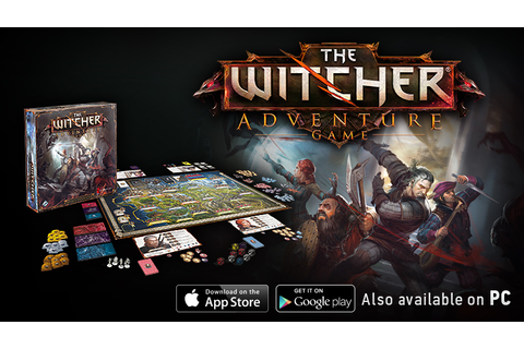 The Witcher Adventure Game Out Now! - CD PROJEKT RED