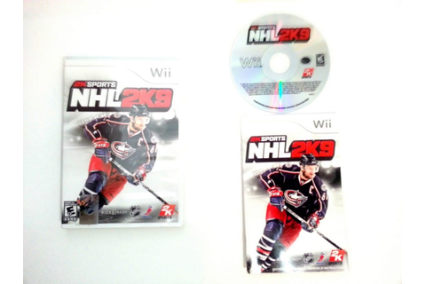 NHL 2K9 game for Wii (Complete) | The Game Guy