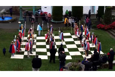 Six of One Society Re-enact the Chess Game from The ...
