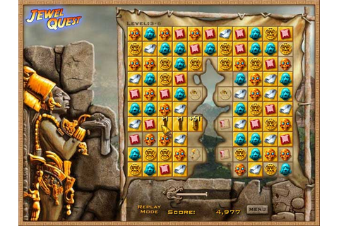 Play free Jewel Quest Online games. Rearrange valuable ...
