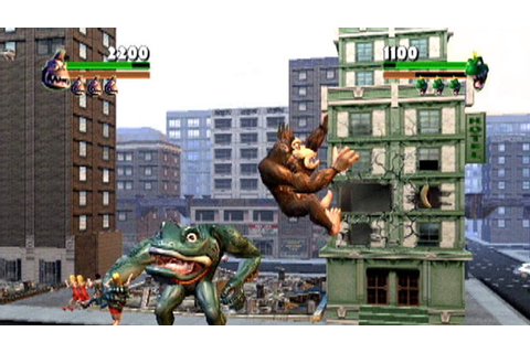 Rampage: Total Destruction (2006) promotional art - MobyGames
