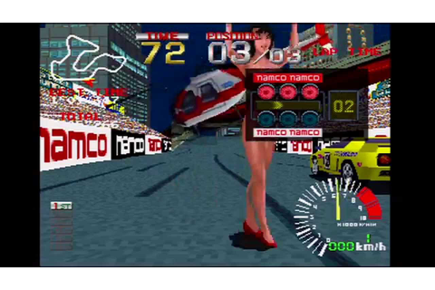 Ridge Racer Games on Sony PlayStation Part 1 Ridge Racer ...