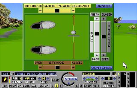 Links: The Challenge of Golf Download (1990 Sports Game)