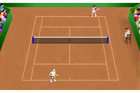 Center Court Tennis Download (1991 Sports Game)