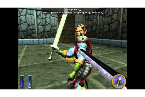 DOS Game: An Elder Scrolls Legend - Battlespire - YouTube