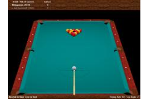 Virtual Pool Hall Download (1999 Sports Game)
