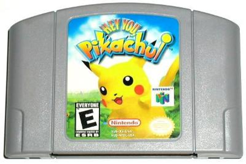 Hey You Pikachu! [Game Only] Value / Price | Nintendo 64
