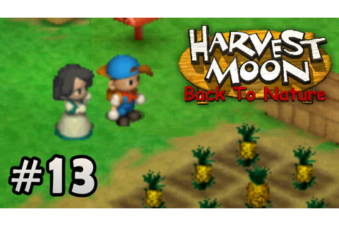 Harvest Moon Back To Nature - Visitas #13 - YouTube