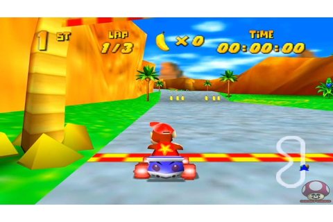 Gameplay: Diddy Kong Racing (Nintendo 64) - YouTube