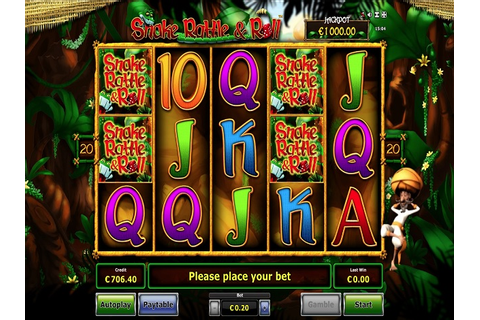 Play Snake Rattle N Roll Video Slot Free at Videoslots.com