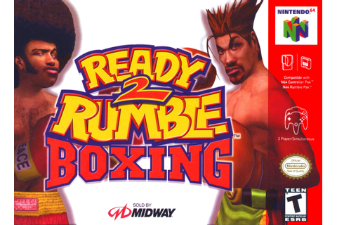 Ready 2 Rumble Boxing Nintendo 64 Game