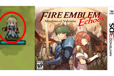 Fire Emblem Echoes -Shadows Of Valentia- MU Character ...