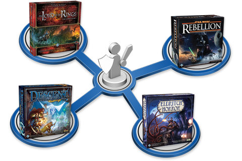 Our Best Solo Board Games - Fantasy Flight Games