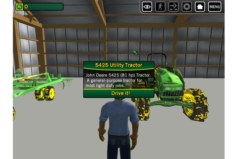 THQ John Deere Drive Green game for PC full version free ...