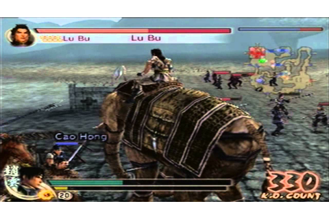 Dynasty Warriors 5 w/ Commentary (PS2) || LU BU CHAOS MODE ...