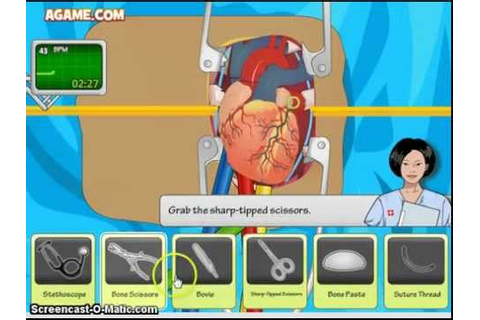 Heart Surgery Game Walkthrough - YouTube