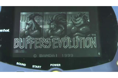 Buffers Evolution - Bandai Wonderswan - VGDB - YouTube