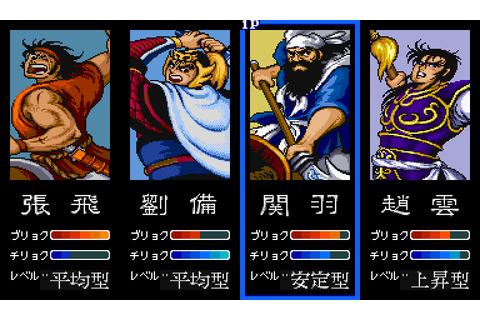 Dynasty Wars (1989) by Capcom Arcade game