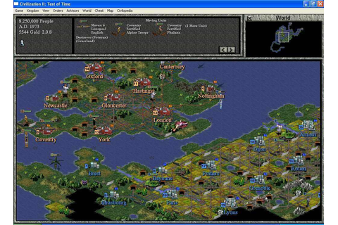 Civilization II Test of Time Download Free Full Game ...