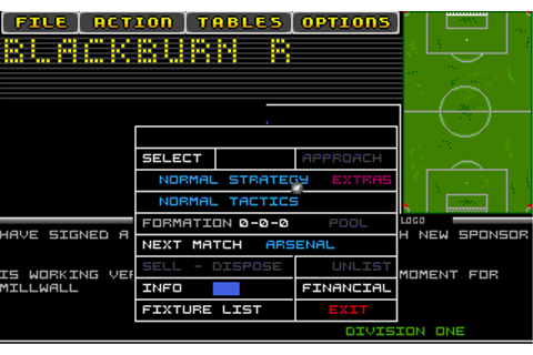 Download Tactical Manager - My Abandonware