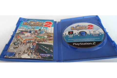 Metropolismania 2 for Playstation 2 PS2 - worldwide shipping, fast ...