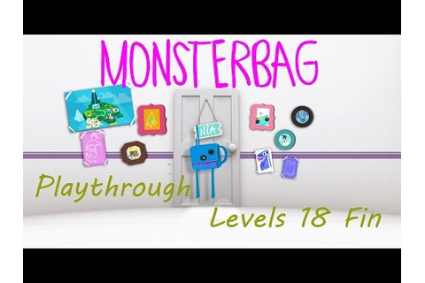 MonsterBag Playthrough Levels 18 - Credits (PS Vita Cam ...
