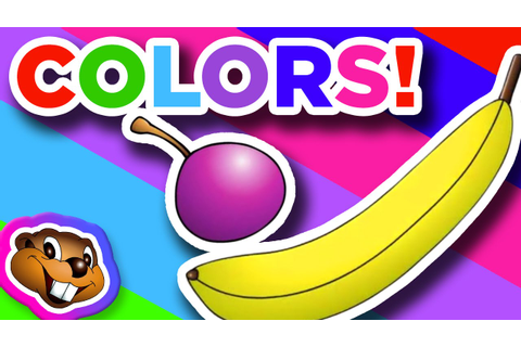 The Color Game - English Kindgarten Education - YouTube