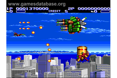Air Buster - NEC PC Engine - Games Database