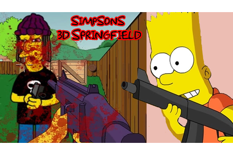 Simpsons 3D Springfield - Flash Game HD - YouTube