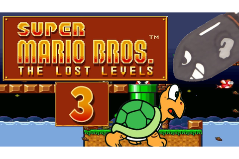 Let's Play Super Mario Bros. The Lost Levels Part 3: Luigi ...