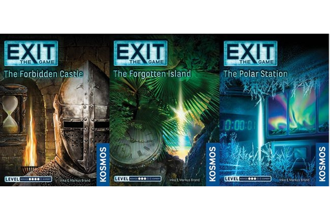 Dale Yu: The EXIT series from Kosmos – EXIT: The Forgotten ...