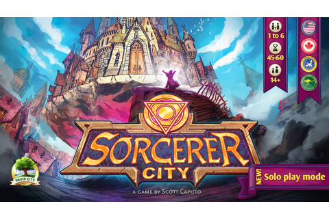 Sorcerer City Board Game by Druid City Games —Kickstarter