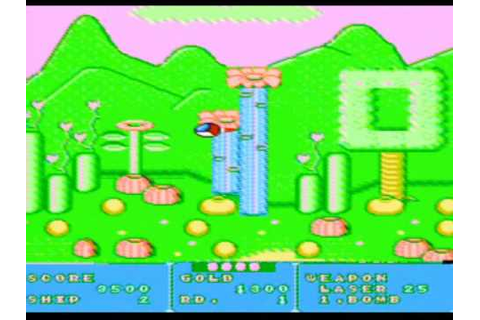 Fantasy Zone (Tengen) Game Sample - NES/FC - YouTube