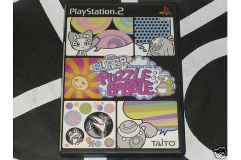 Playstation 2 PS2 Import Game Super Puzzle Bobble Taito ...