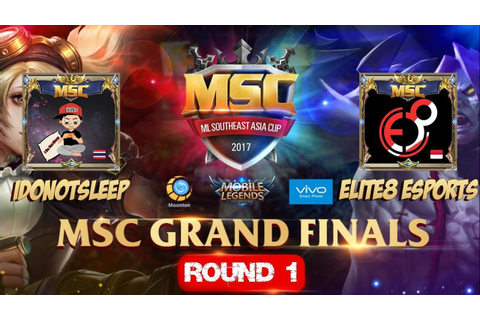 IDONOTSLEEP VS ELITE8 ESPORTS Match 1 - Mobile Legends MSC ...
