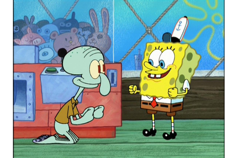 Cute Screenshots Of Spongebob And Squidward - Bikini ...