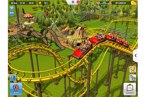 Frontier Developments Brings RollerCoaster Tycoon 3 to iOS ...