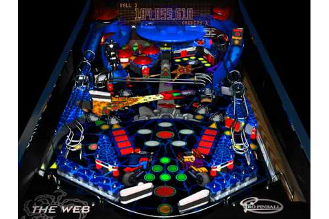 DOS Game: Pro Pinball - The Web - YouTube