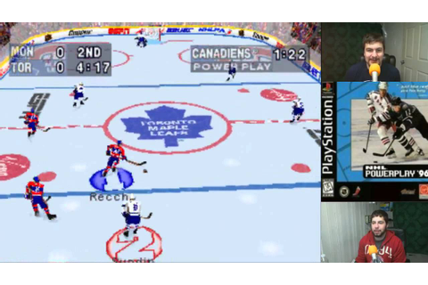 Old School: NHL Powerplay '96 (PS1) - YouTube