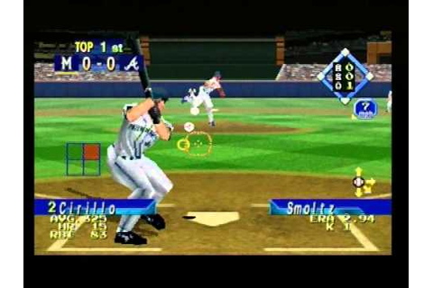 World Series Baseball 98 - YouTube