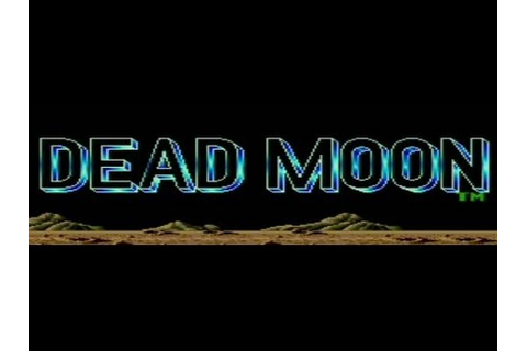 Classic TurboGrafx-16 Game Dead Moon in HD 720p - YouTube