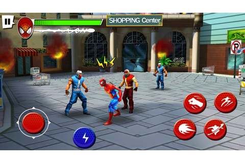 Gameloft HD Games: Ultimate Spider-Man: Total Mayhem HD на ...
