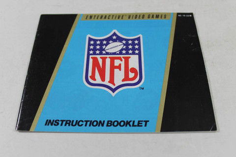 Manual - Nfl Football - Nes Nintendo