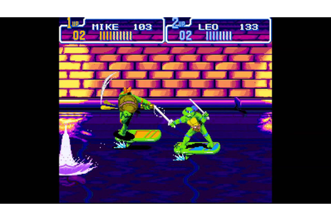 Teenage Mutant Hero Turtles: Turtles in Time - Scene 3 ...