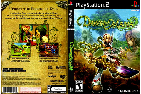JC VIDEO PS2: DAWN OF MANA