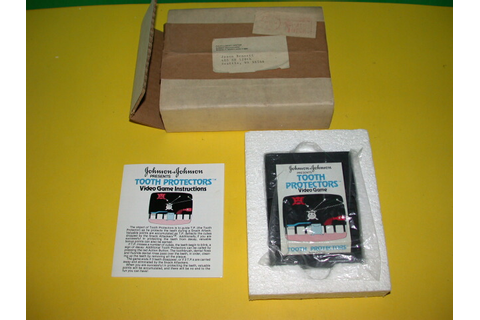 Atari 2600 VCS Tooth Protectors : scans, dump, download ...