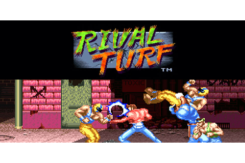 RIVAL TURF! | Virtual Console (Wii) | Games | Nintendo