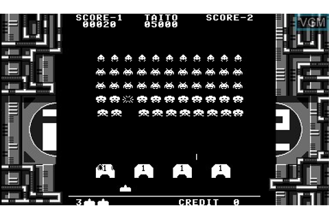 Space Invaders Virtual Collection for Nintendo Virtual Boy ...