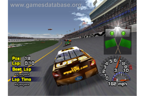 NASCAR Thunder 2003 - Sony Playstation - Games Database